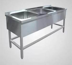 Ванна моечная из н\с ВМПС -3-400