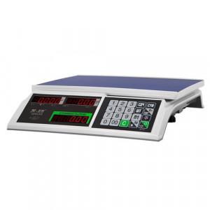 Весы торговые M-ER 326 AC -15.2 с АКБ без стойки Slim