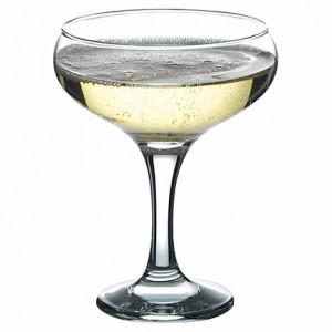 фужер (шампанское), V =260мл, Н=190мм(прозрачное стекло)