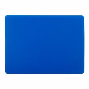 Доска разделочная 400х300х15 мм (полипропилен) синяя