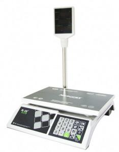 Весы торговые M-ER 326 ACP-32.5 с АКБ со стойкой Slim
