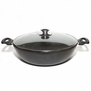 Сковорода-сотейник (алюм. литая) Д=300/85 мм.