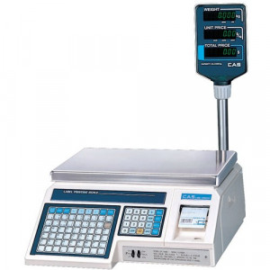 Весы с печатью этикетки CAS LP-15R Ver.1.6 Ethernet
