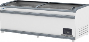 Ларь-бонета Italfrost ЛБ М 2500 серый верх. бампер