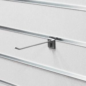 Крючок для экономпанели L=250 мм (хром) d =4 мм