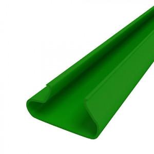 Вставки пластиковые в экономпанель - зеленые, 1200мм