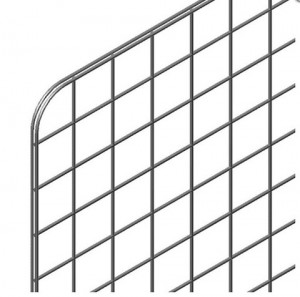Панель-сетка 980х980мм хром