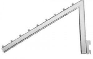 Кронштейн на стойку L-500 мм, 8 штырьков