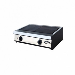 Плита электрическая 2-х конфорочная настольная без жарочного шкафа Ф2ЖТЛпэ