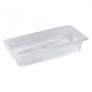 Гастроемкость 1/1, Н-100, 530х325х100мм, п/п (пластик, прозрачный)