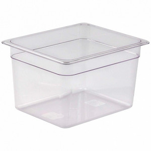Гастроемкость 1/2, Н-200, 325х265х200мм. п/п (пластик, прозрачный)